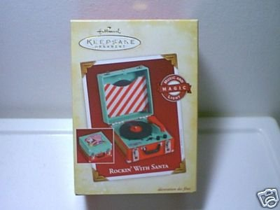 Hallmark Rockin' with Santa Rare Ornament, dated 2005 ()