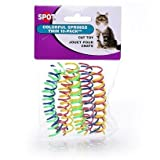 Spot Cat or Kitten Colorful THIN Springs Size:Pack of 20