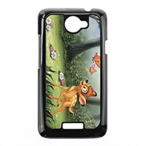 HTC One X Cell Phone Case Black Bambi Character Bambi D5780548