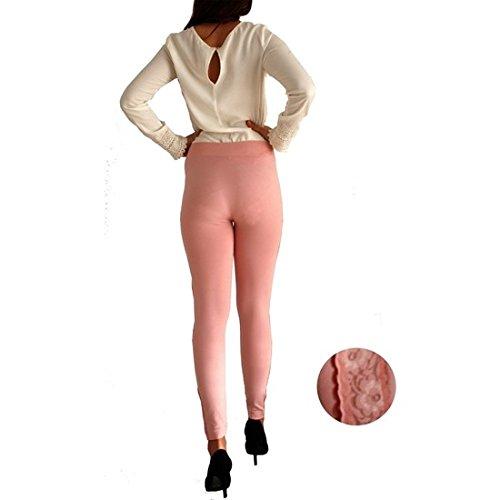 Rose San Femme Leggings Marino Sculptants Anaissa d8wpqXq