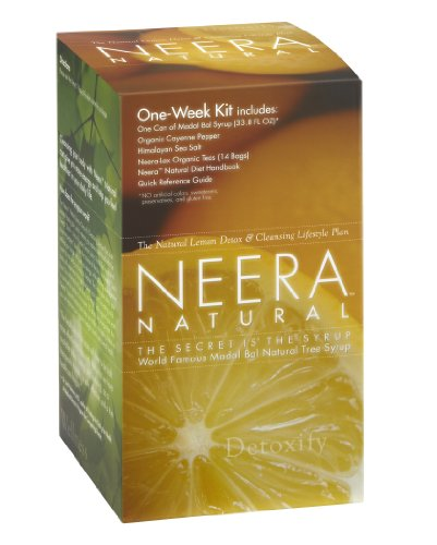 Neera Natural One Week Pack, the Improved Stanley Burroughs Master Cleanser Diet Kit by Neera Natural