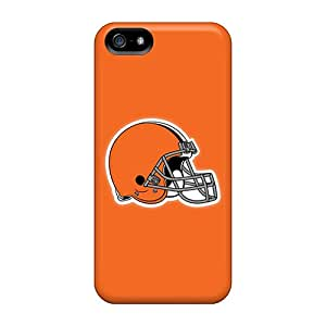 GBINZnb-4822 Snap On Case Cover Skin For Iphone 5/5s(cleveland Browns 11)