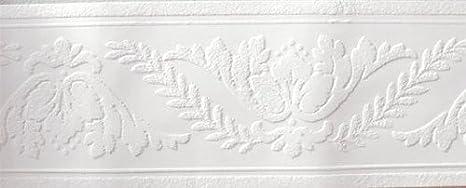 Molding White Paintable Wallpaper Border Wall Borders Amazon Com