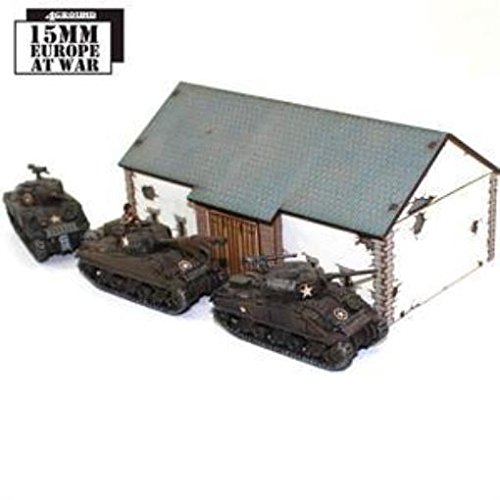 Europe At War - Buildings 15mm Threshing Barn (Pre-Painted)