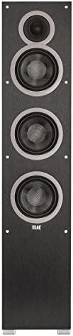 Elac – Debut F6, Floorstanding Loudspeaker Black – Each Single