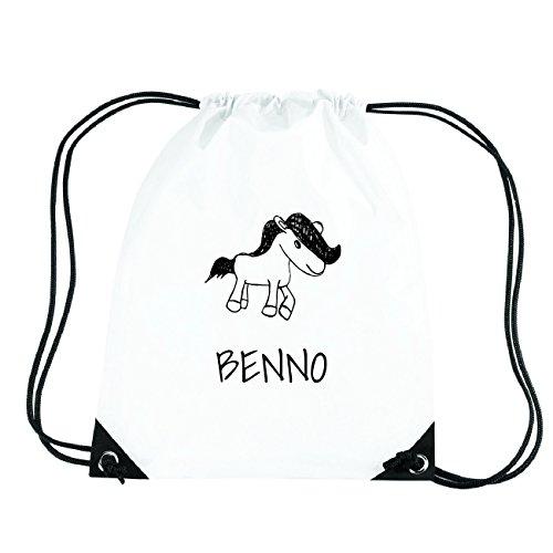 JOllipets BENNO Turnbeutel Sport Tasche PGYM5182 Design: Pony 1j7KdRC4
