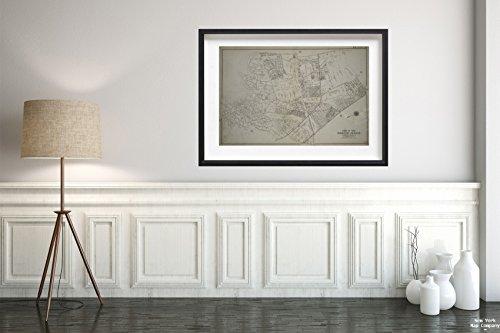 (1909 Map Philadelphia Plate 41: Bounded Bergen Landing Road, Rockaway Plank Road, Rockaway Turnpike, Meyer Avenue, York Avenue, Farmers Avenue, Rockaway Plank Road, (Idlewild Park) Three Mile)