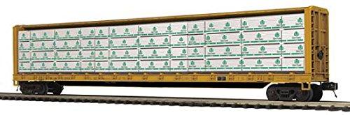 MTH PREMIER O MR C-BEAM FLAT W/LUMBER LOAD (Mth Trains Premier)