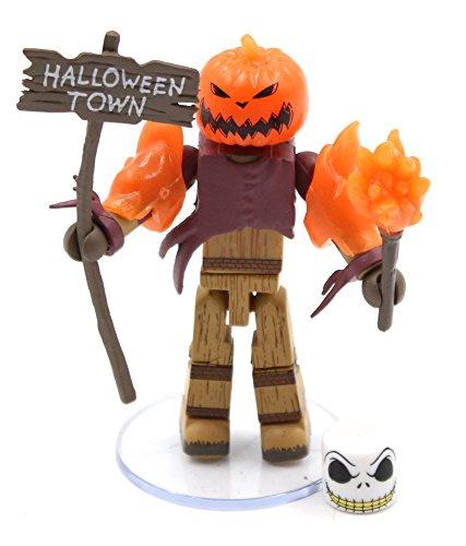 Nightmare Before Christmas Minimates Series 3 Glow-in-the-Dark Pumpkin King]()