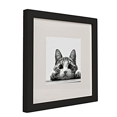 BOJIN 10x10 Picture Frames Matted to 6x6 Photo Poster Frame for Wall Hanging