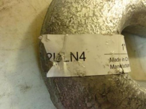 Industrial Grade 2ULN4 Hook End Fitting, Left, 5000 Lb, 12 In by Industrial Grade (Image #1)