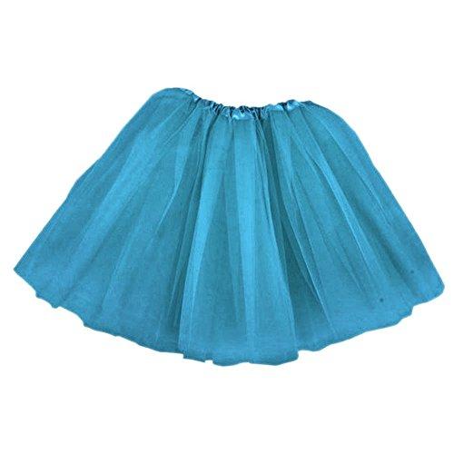 Top Rated Classic Elastic Ballet-Style Adult Tutu Skirt, by BellaSous. Great princess tutu, adult dance skirt, petticoat skirt or pettiskirt tutu for women. Tulle fabric - Turquoise tutu