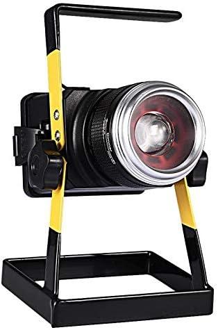 Luz de inundación de carga LED Foco Proyector recargable de largo ...