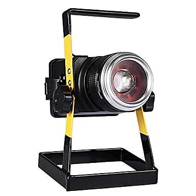Reflector Luz de inundación de carga LED Foco Proyector recargable ...