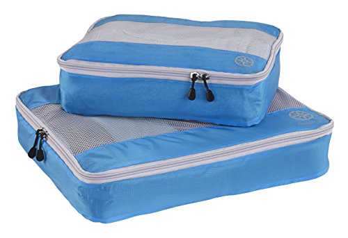 (Uncharted Ultra-Lite Packing Cube 2 Piece Set, Electric Blue, One)