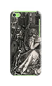 LarryToliver iphone Case, Escher Background image The pattern (iphone 5c) #4