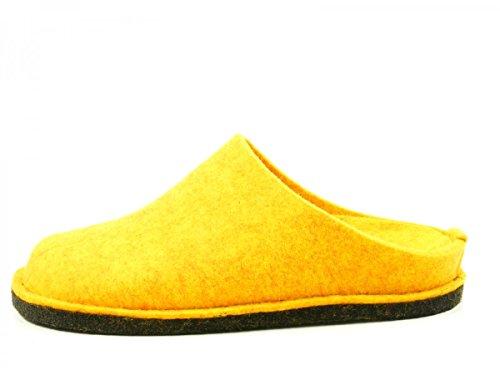 Haflinger Unisex-Erwachsene Flair Soft Pantoffeln Mais