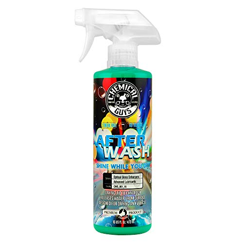 (Chemical Guys CWS_801_16 After Wash Shine While You Dry Drying Agent with Hybrid Gloss Technology (16 oz))