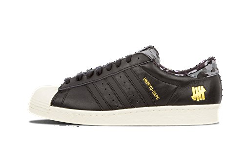 Adidas Bape x Undefeated x Consortium Superstar 80v Black - Cblack/Cblack/Cwhite Trainer Black free shipping find great clearance classic free shipping genuine clearance shop for 4kimJKbg