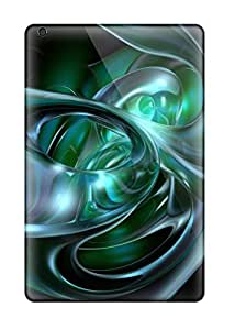Ideal Jamiemobile2003 Cases Covers For Ipad Mini(blue Green Abstract), Protective Stylish Cases