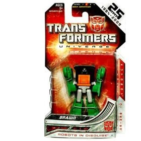 Transformers Universe Classics Legends Class > Brawn Action Figure [Toy]