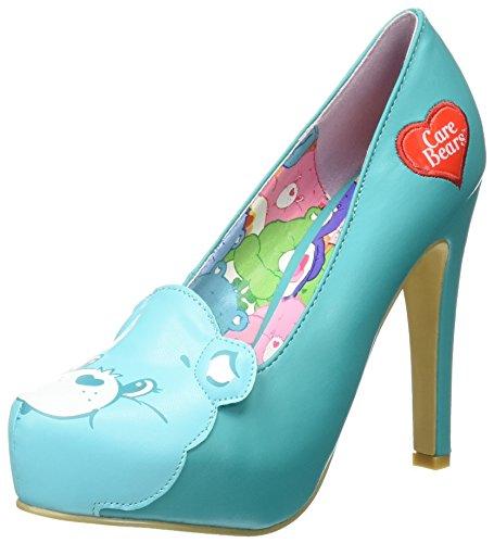 Platform Wish Fist Iron Zapatos Bear Blue All Teal Mujer qfFxwx