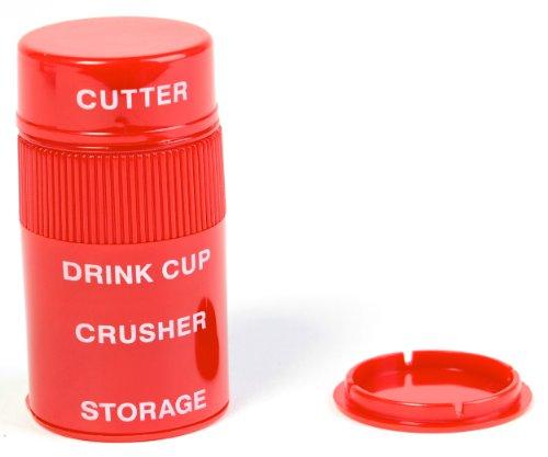 Ezy-dose Ultra Fine Cut and Crush Pill Splitter and Crusher,2-pack ()