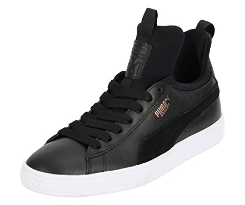 Fierce Sneaker Puma Black Nero Basket Donna OqYwYT