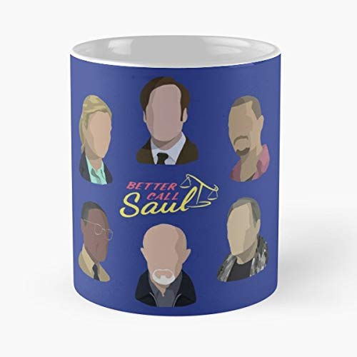 Better Call Saul Goodman Gus Fring Gustavo - Funny Gifts For Men And Women Gift Coffee Mug Tea Cup White 11 Oz.the Best Holidays.