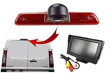 Passt Auch f/ür Toyota Proace /& Citroen Jumpy Dolphin Automotive R/ückfahrkamera /& 4.3  Armaturenbrett Display Set f/ür Peuget Expert 2007-2016