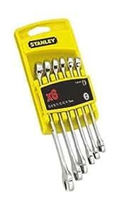 Stanley 4-94-646 - Juego 6 llaves combinadas cromo