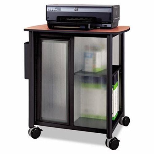 Safco Impromptu Personal Mobile Storage Center - Impromptu Personal Mobile Storage Center, 25-1/4w x 17-1/4d x 26-1/2h, Black by Safco