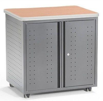 OFM 66746-MPL Mobile Locking Storage Cabinet, 30