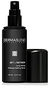 Dermablend Power Setter 2-in-1 Makeup Setting Spray with Aloe Vera, 3.4 Fl. Oz.
