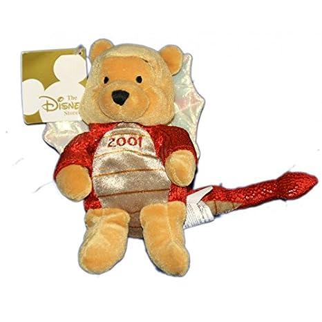 Collector 2001 peluche Doudou Winnie the Pooh Dragon 20 cm Disney ...