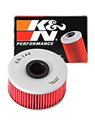 K&N KN-144 Yamaha High Performance Oil Filter