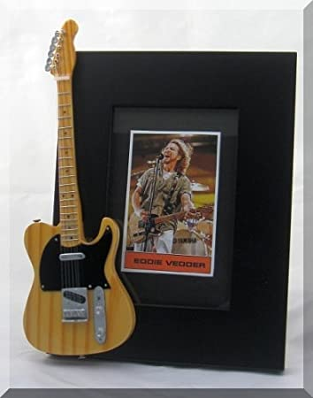 Eddie Vedder Miniature Guitar Photo Frame Pearl Jam Amazoncouk
