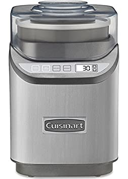 CUISINART Cool Creations Ice Cream Maker, White - ICE-60W