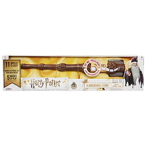 Harry Potter, Albus Dumbledore's Wizard Training Wand - 11 Spells to CAST! by Harry Potter