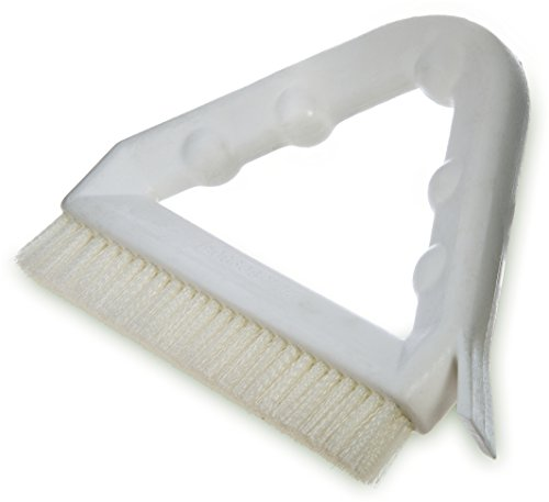 Carlisle 4132302 Sparta Tile and Grout Brush with Scraper, 9