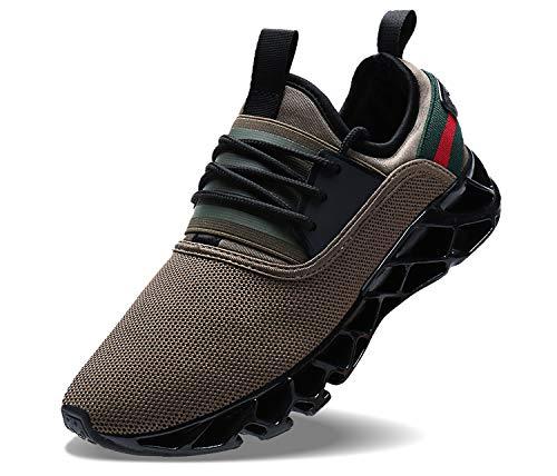 Image of COKAFIL Men Running Shoes Walking Athletic Casual Fashion Sport Tennis Blade Sneakers