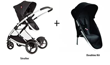 Amazon.com : Phil and Teds Promenade Stroller WITH Doubles Kit in ...