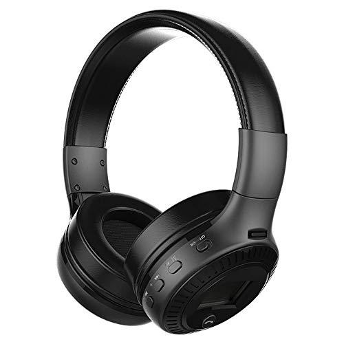 Bluetooth Headset, Headset, Sports Wireless Bluetooth Headset Card, Noise Canceling Headset, Bluetooth Protocol 4.1,Black
