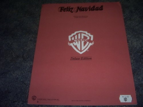 Feliz Navidad Sheet Music - Feliz Navidad Sheet Music Deluxe Edition