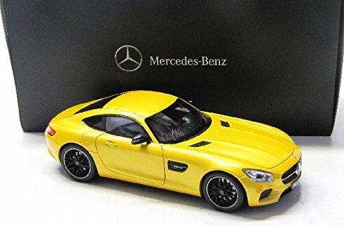 Mercedes Benz 特注 1/18 メルセデスベンツ AMG GT S (C190) イエローゴールド B00TY462D2