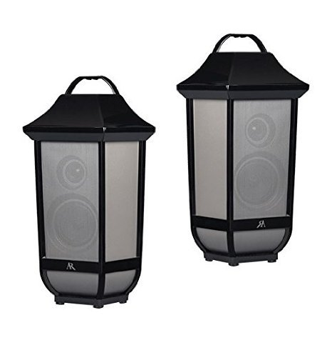 Acoustic Research Portable Bluetooth Speaker Glendale - 2 Pack (Certified Refurbished)