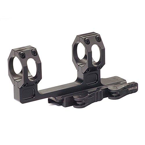 American Defense AD-RECON-H 30 STD Riflescope Optic Mount, Black by American Defense Mfg.