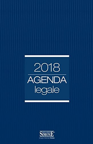 Agenda legale 2018 blu. Ediz. minore