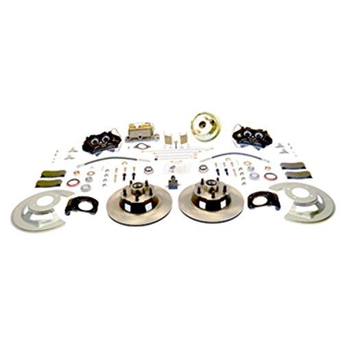 SSBC A120-20 Front Drum to Disc Brake Conversion Kit