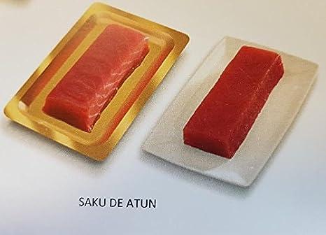 Saku de atún rojo, especial para comida japonesa sushi sashimi maki tartar tataki.: Amazon.es: Alimentación y bebidas